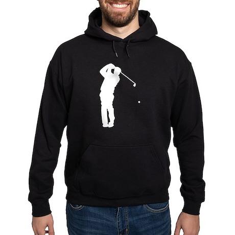 Golfer Silhouette Hoodie (dark)