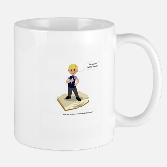 Excuse Me Let Me Speak Signiture (boy) Mug