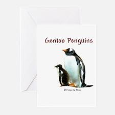 Gentoo Penguins - Greeting Cards (Pk of 10)