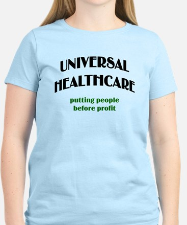 Universal Health Care Women's Light T-Shirt
