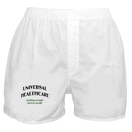 Universal Health Care Boxer Shorts