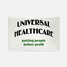 Universal Health Care Rectangle Magnet