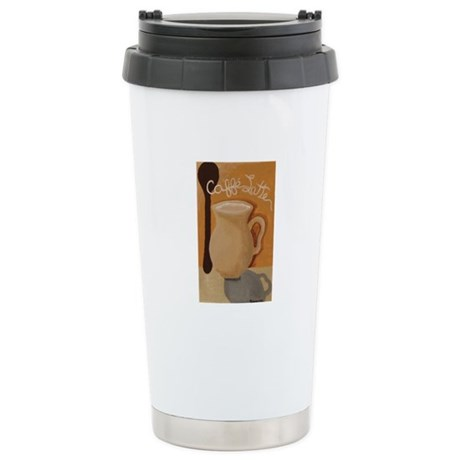 Cafe Latte Stainless Steel Travel Mug