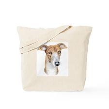 Greyhound Brindle Bust Tote Bag