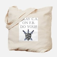 CA on FB Tote Bag