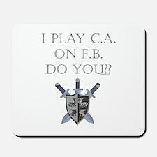 CA on FB Mousepad