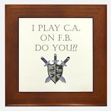 CA on FB Framed Tile