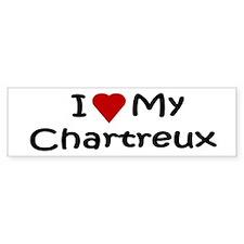 Chartreux Bumper Bumper Sticker