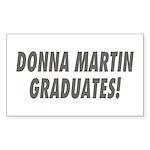 DONNA MARTIN GRADUATES! Rectangle Sticker 10 pk)