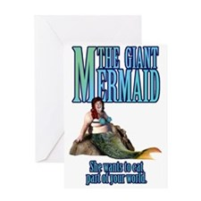 Unique Little mermaid Greeting Card