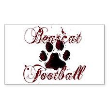 Bearcat Football (1) Decal