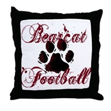 Bearcat Football (1) Throw Pillow