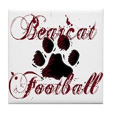 Bearcat Football (1) Tile Coaster