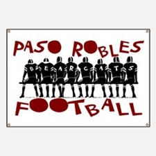PASO ROBLES FOOTBALL Banner