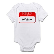 William Infant Bodysuit