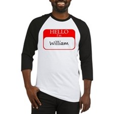 William Baseball Jersey