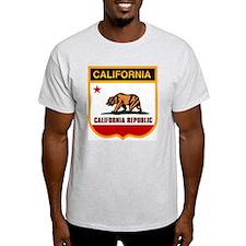 California Crest Ash Grey T-Shirt