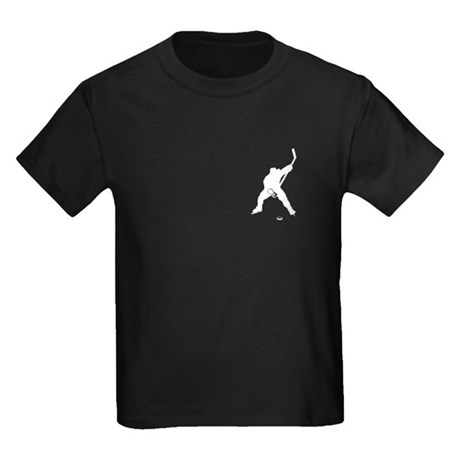 Hockey Player Kids Dark T-Shirt