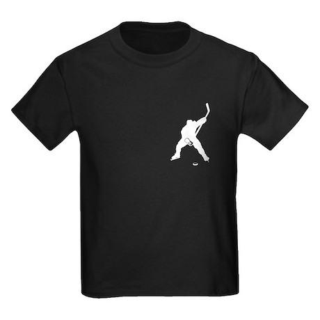 Hockey Player Kids Dark T-Shirt