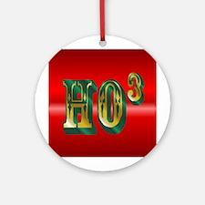 Ho ho ho Ornament (Round)
