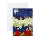 Angels Announce Greeting Cards (Pk of 10)