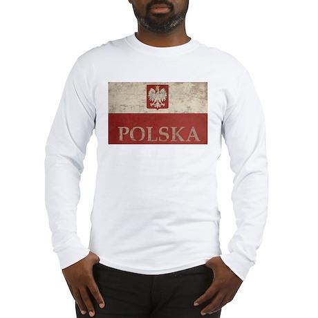 Vintage Polska Long Sleeve T-Shirt