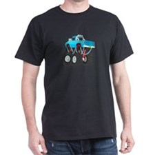 BLUE MONSTER TRUCK T-Shirt