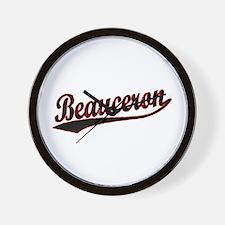 Beauceron Vaesity Wall Clock