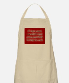 If I Had a Wand BBQ Apron
