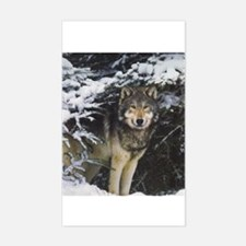 """""""Wolf"""" Rectangle Decal"""