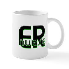 ER NURSE GREEN GLOW Mug