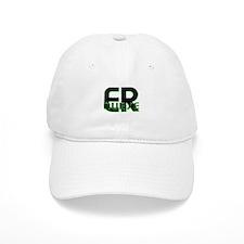 ER NURSE GREEN GLOW Baseball Cap