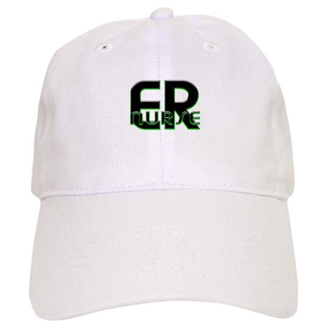 ER NURSE GREEN GLOW Cap