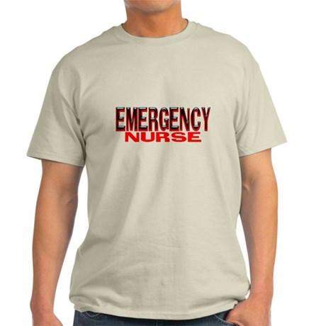 EMERGENCY NURSE Light T-Shirt