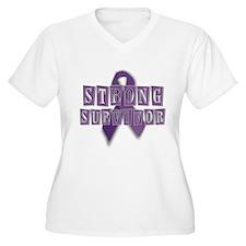 Purple Strong Survivor T-Shirt