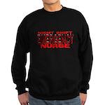 ER NIGHT SHIFT NURSE Sweatshirt (dark)