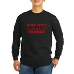 ER NIGHT SHIFT NURSE Long Sleeve Dark T-Shirt