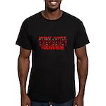 ER NIGHT SHIFT NURSE Men's Fitted T-Shirt (dark)
