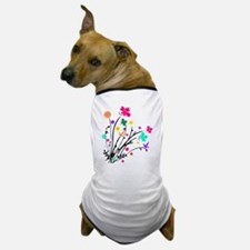 'Flower Spray' Dog T-Shirt