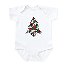 x_Xmas Tree Infant Creeper