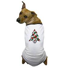 x_Xmas Tree Dog T-Shirt