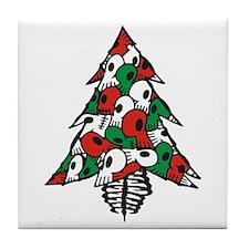 x_Xmas Tree Tile Coaster