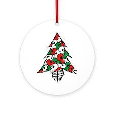 x_Xmas Tree Ornament (Round)