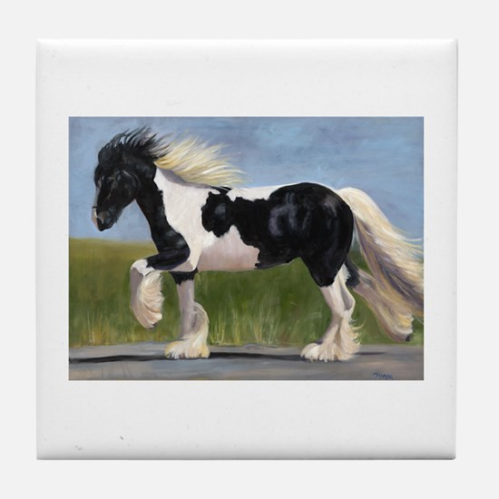 Gypsy Horse Tile Coaster