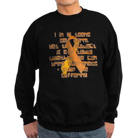 1 In 12 Teens Sweatshirt (dark)