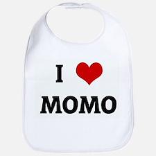 I Love MOMO Bib