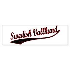 Swedish Vallhund Varsity Bumper Bumper Sticker