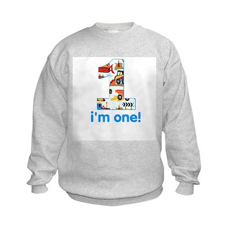 I'm one Kids Sweatshirt