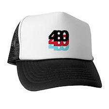 480 Area Code Trucker Hat