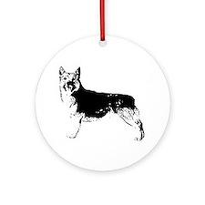 Swedish Vallhund Ornament (Round)